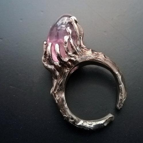 SeaAnemon&Jellyfish/One Amethyst Ring
