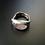 Thumbnail: Bareelements Wrapped ring/Pink Beryl Dark
