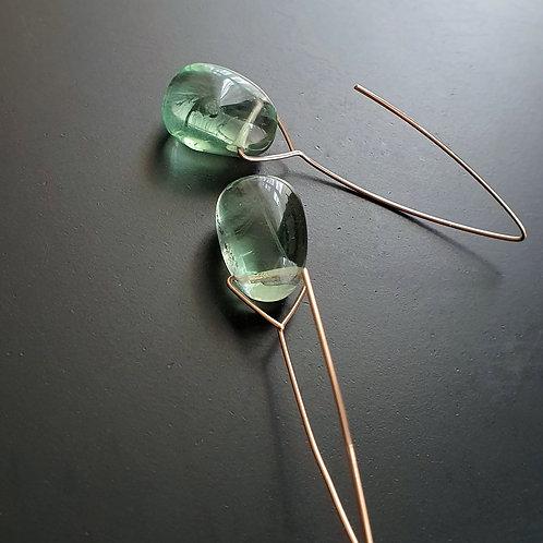Bareelements Drop Earrings/ Sea