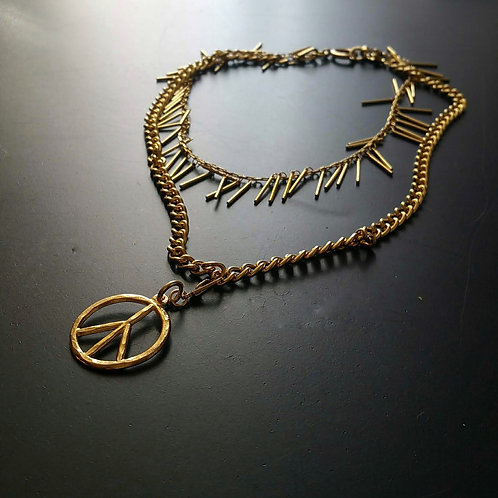 Chained Pacific Necklace