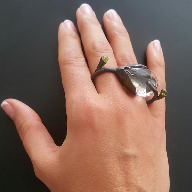Dryad Wildflower Ring