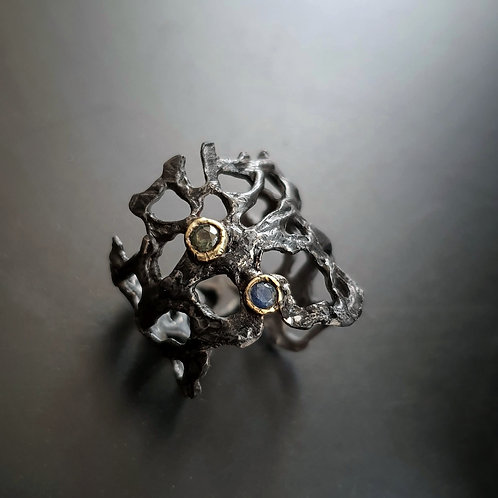 Great Barrier Reef Ring/Sapphire