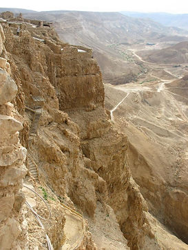 The Northern Palace – Masada