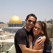 Lovebirds in Jerusalem