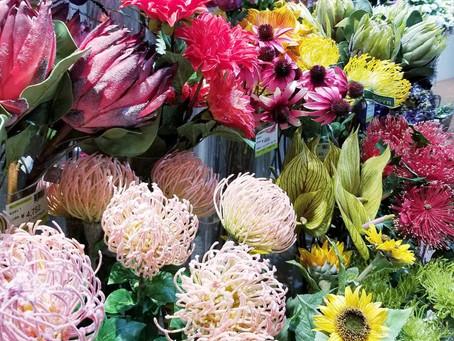 花問屋へお買い物ツアー