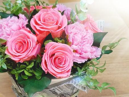 お花のある暮らしを楽しみましょう🎵