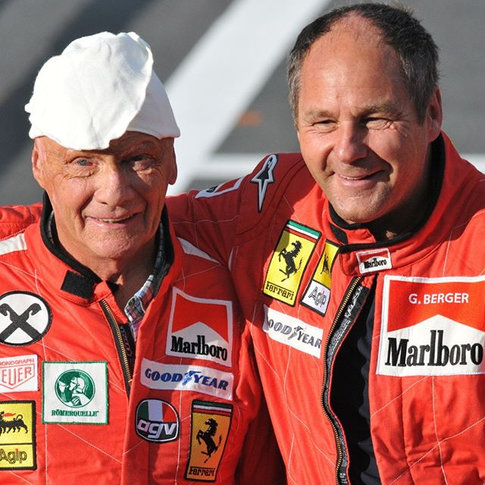#Lauda #Berger #formula1 #Spielberg _Das
