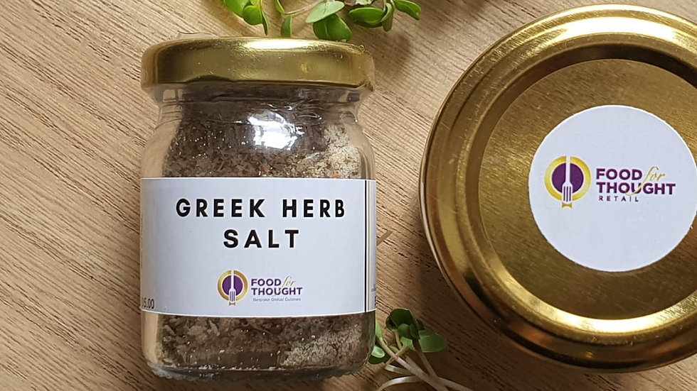 Greek Herb Salt