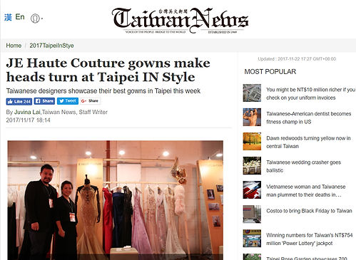 TAIWAN NEWS REPORT