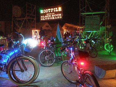 Rootpile Camp Entrance