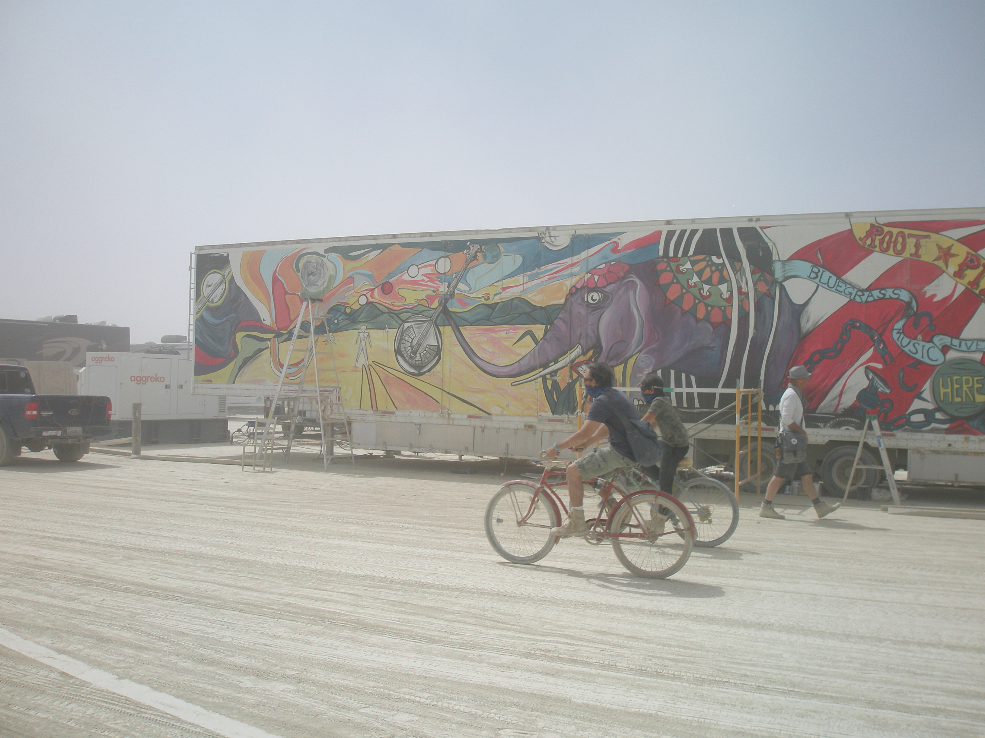 Circus Trailer Mural 2018
