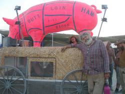 You Can't Hurt Ham Art Car 2018