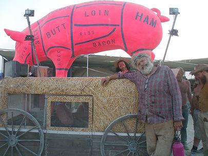 You Can't Hurt Ham Art Car