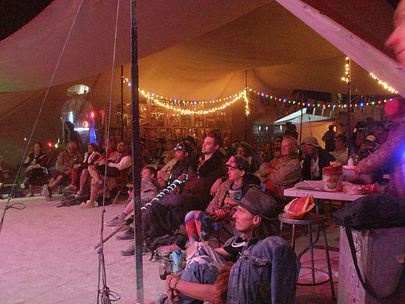 Audience at Bluegrass Show