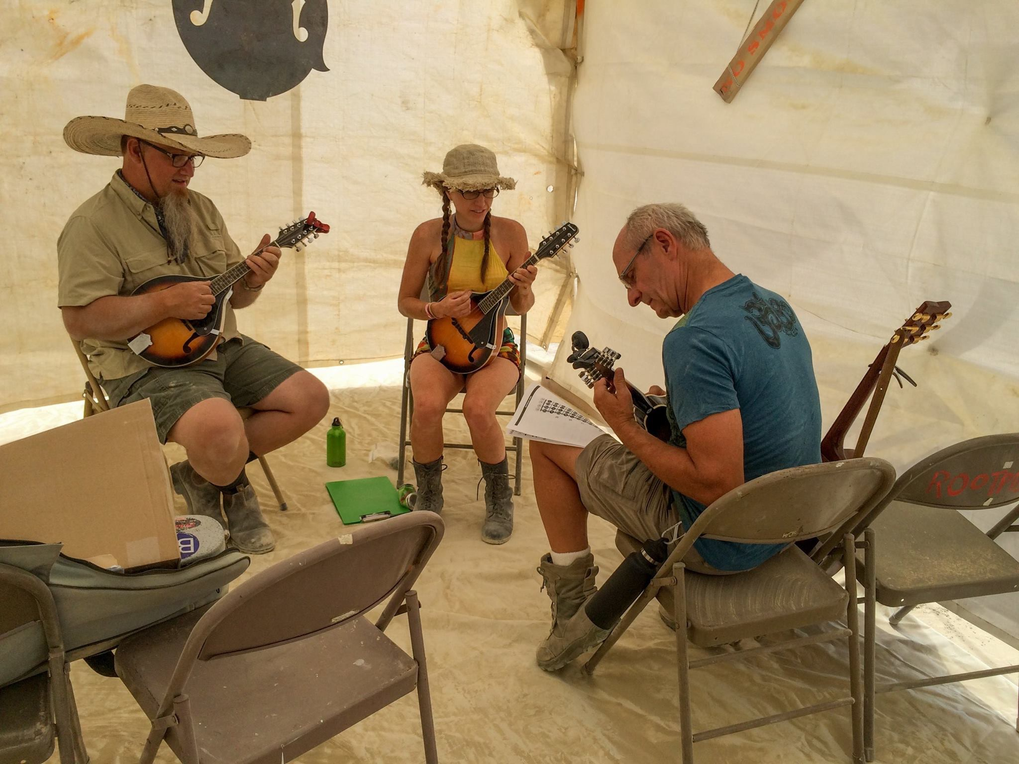 Mandolin Lesson 2016