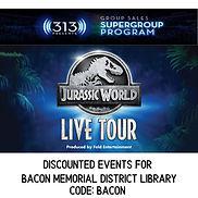 DISCOUNTED EVENTS FOR Bacon Memorial Dis