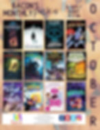 Bacon's October Scary Picks for Elementary