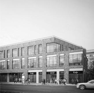 Общественно-торговый комплекс