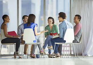Gruppe Meeting