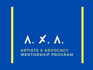 Artists X Advocacy   Public Art Mentorship Program