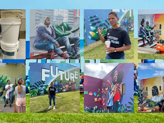 New Mural 'Future' Depicts Black Dreams, Honors Late Community Leaders in Des Moines