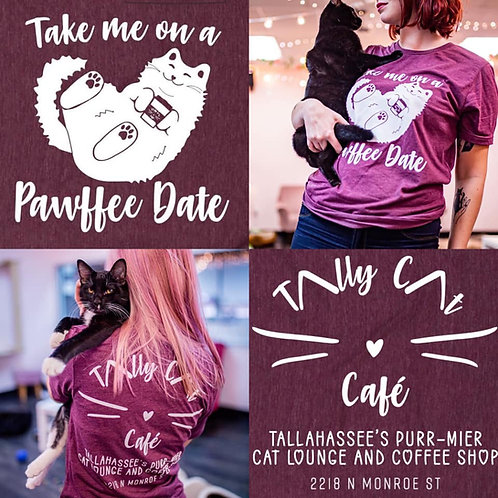 Pawffee Date T-Shirts