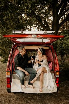 Road Trip Bulli Couple Pärchen Photoshoot