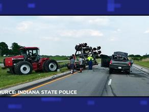 ISP Investigate Tractor vs. Truck Crash on Highway 50