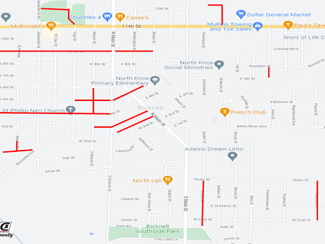 Bicknell Street Paving Project