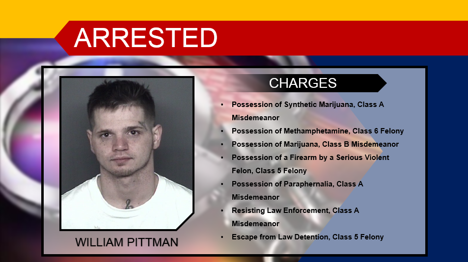 William Pittman Mugshot and Charges