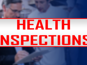May Health Inspection Results