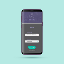 Sesame - Mobile App Ux / Ui