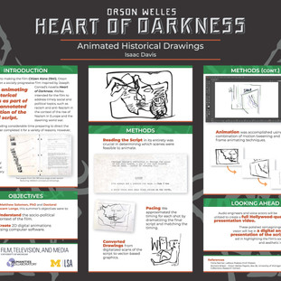 """Research Symposium Poster - """"Heart of Darkness"""""""