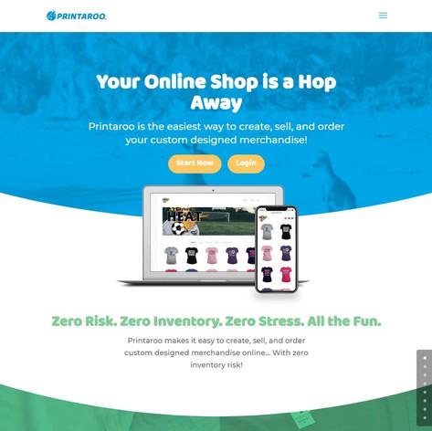 Printaroo.com Homepage