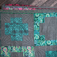 Long Arm Quilting Services with fun Pattern