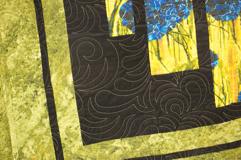 Long Arm Quilting Services - fun pattern