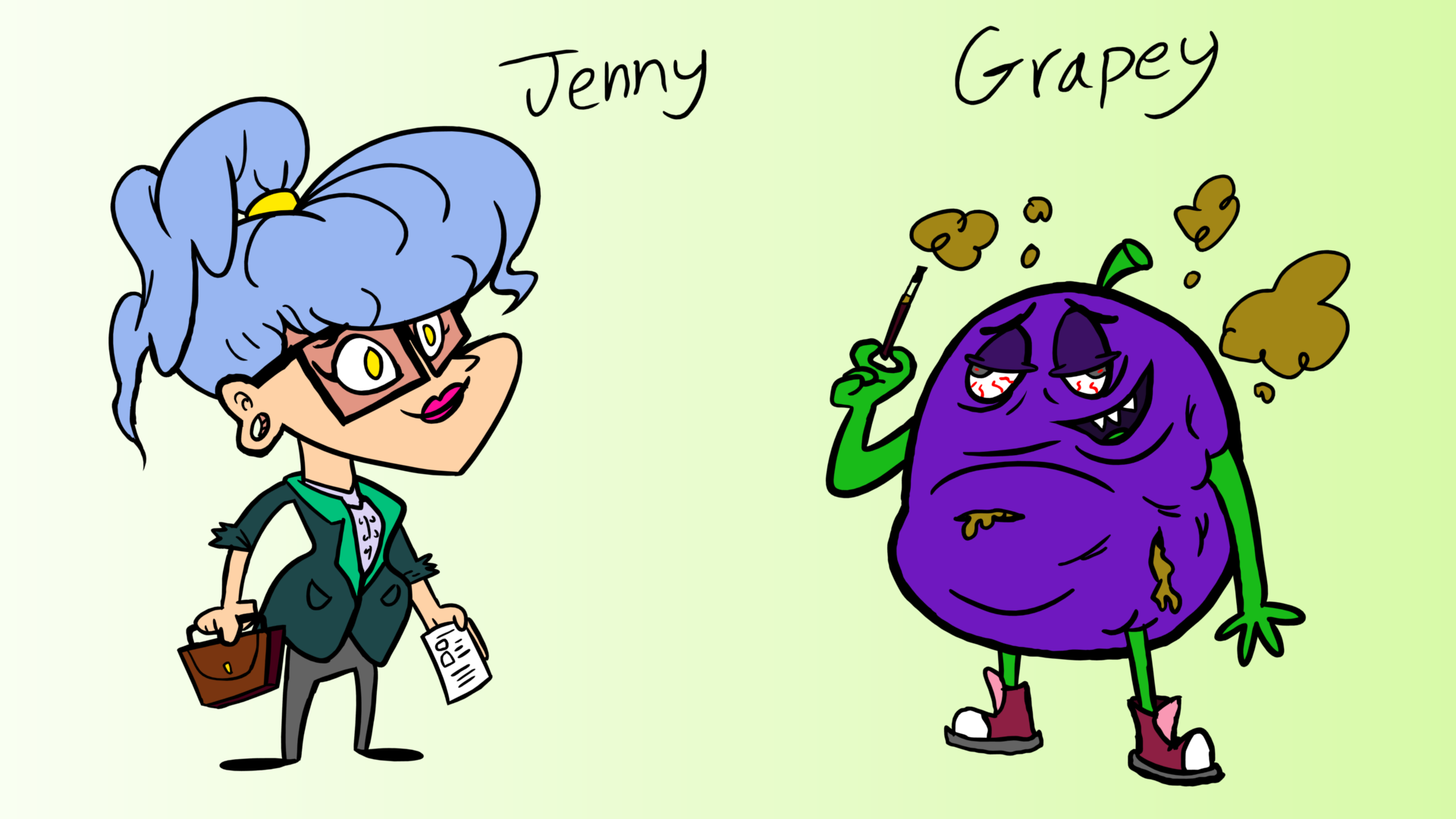 ACME Elixirs - Jenny and Grapey