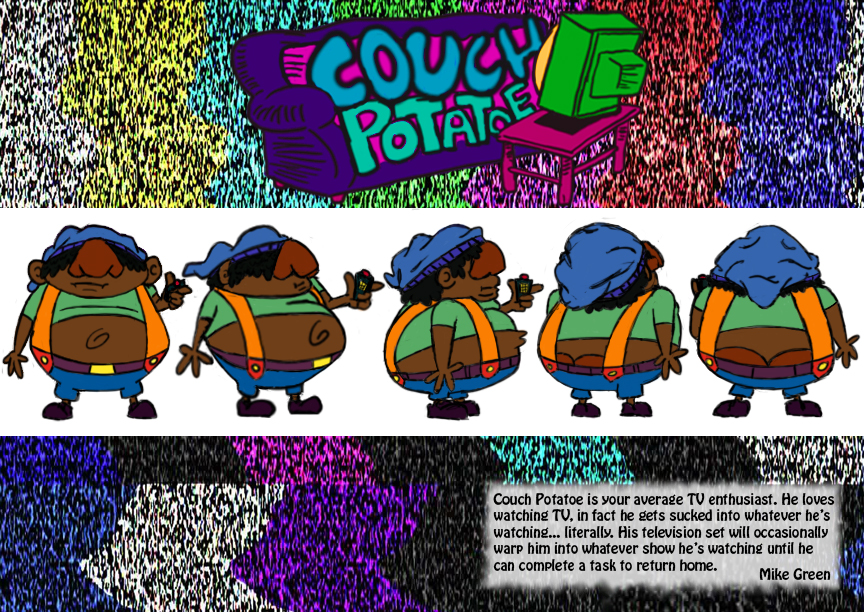 Couch Potatoe Model Sheet