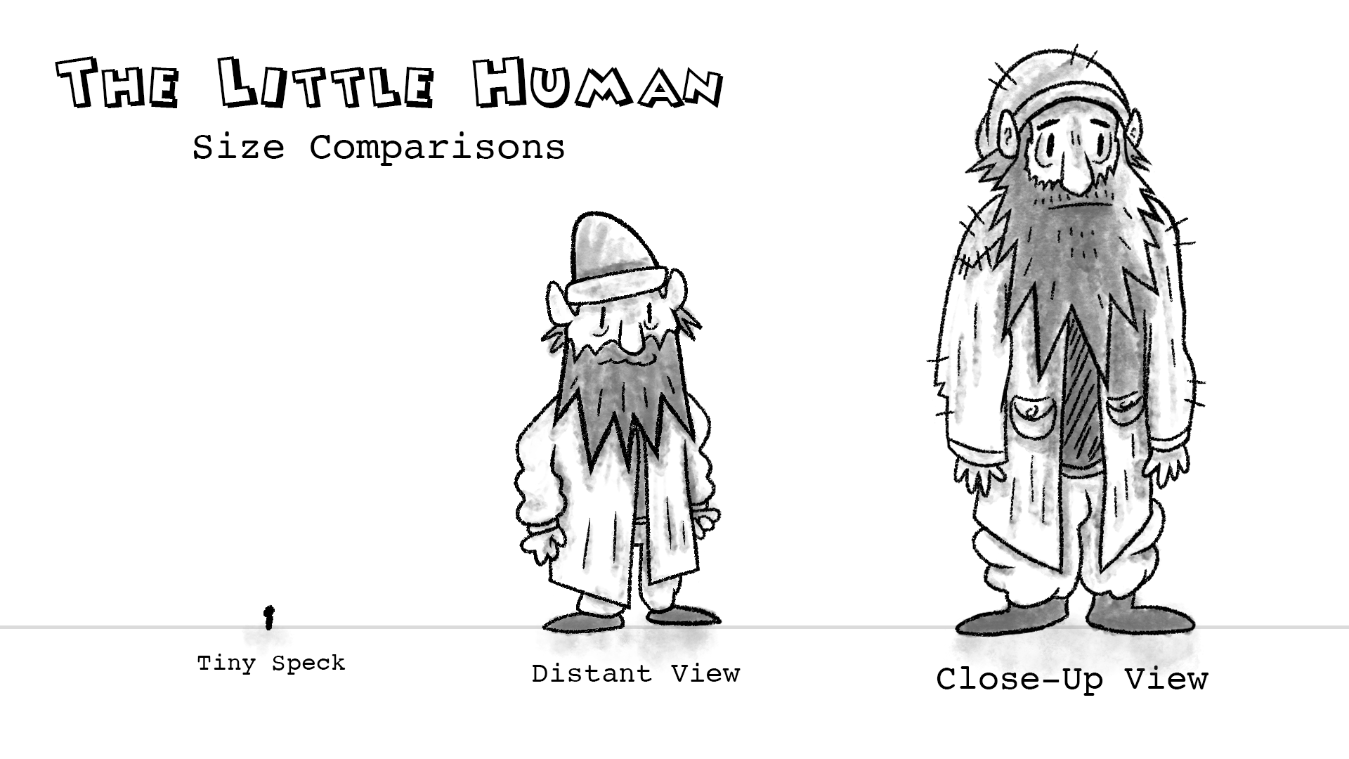 Little Human - Size Comparisons