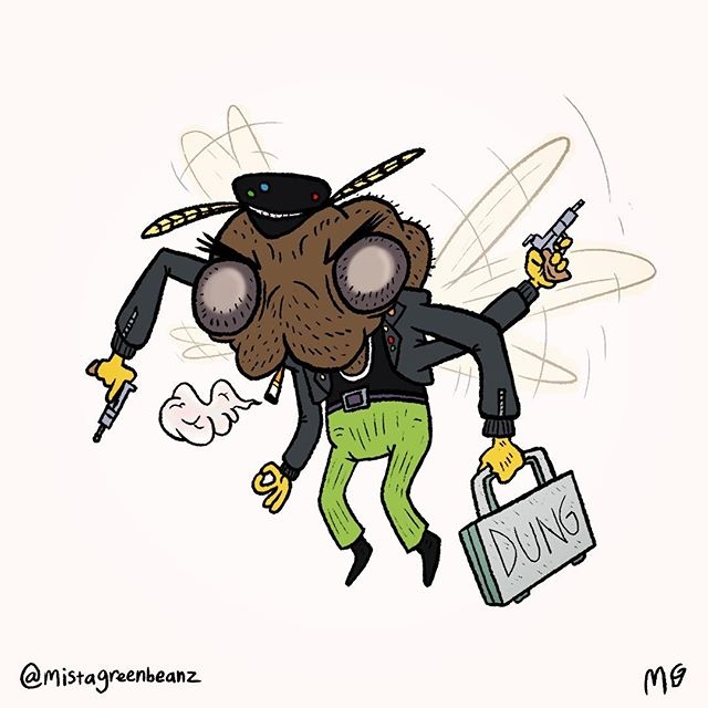 Day 09 - PEST 🐝_._._My Day 2 of _craig.