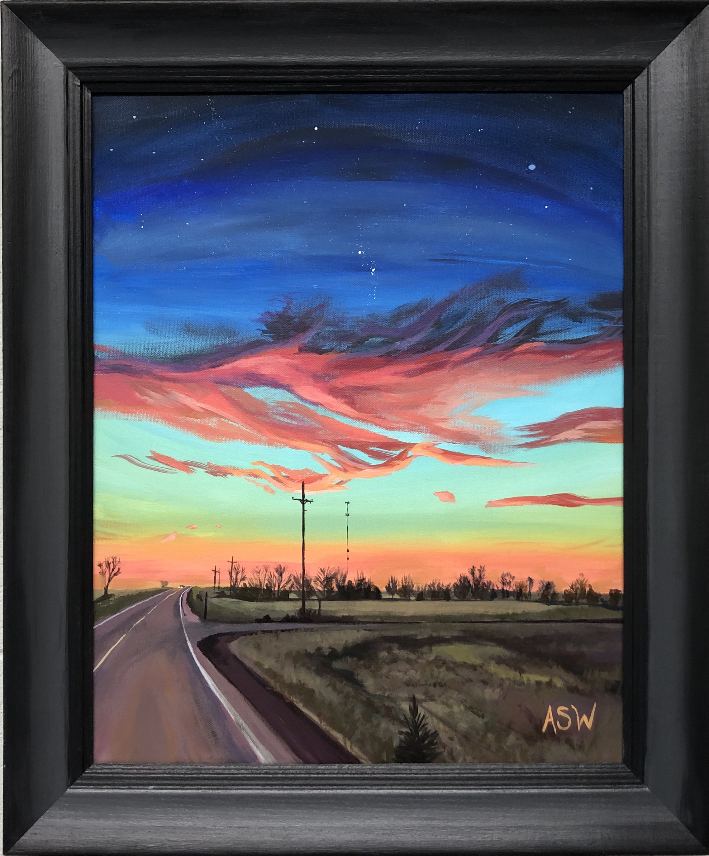 Sunrise on the Road, 2019