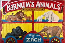Animal cracker ornament