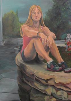 Self Portrait Oils 2011 5' 3
