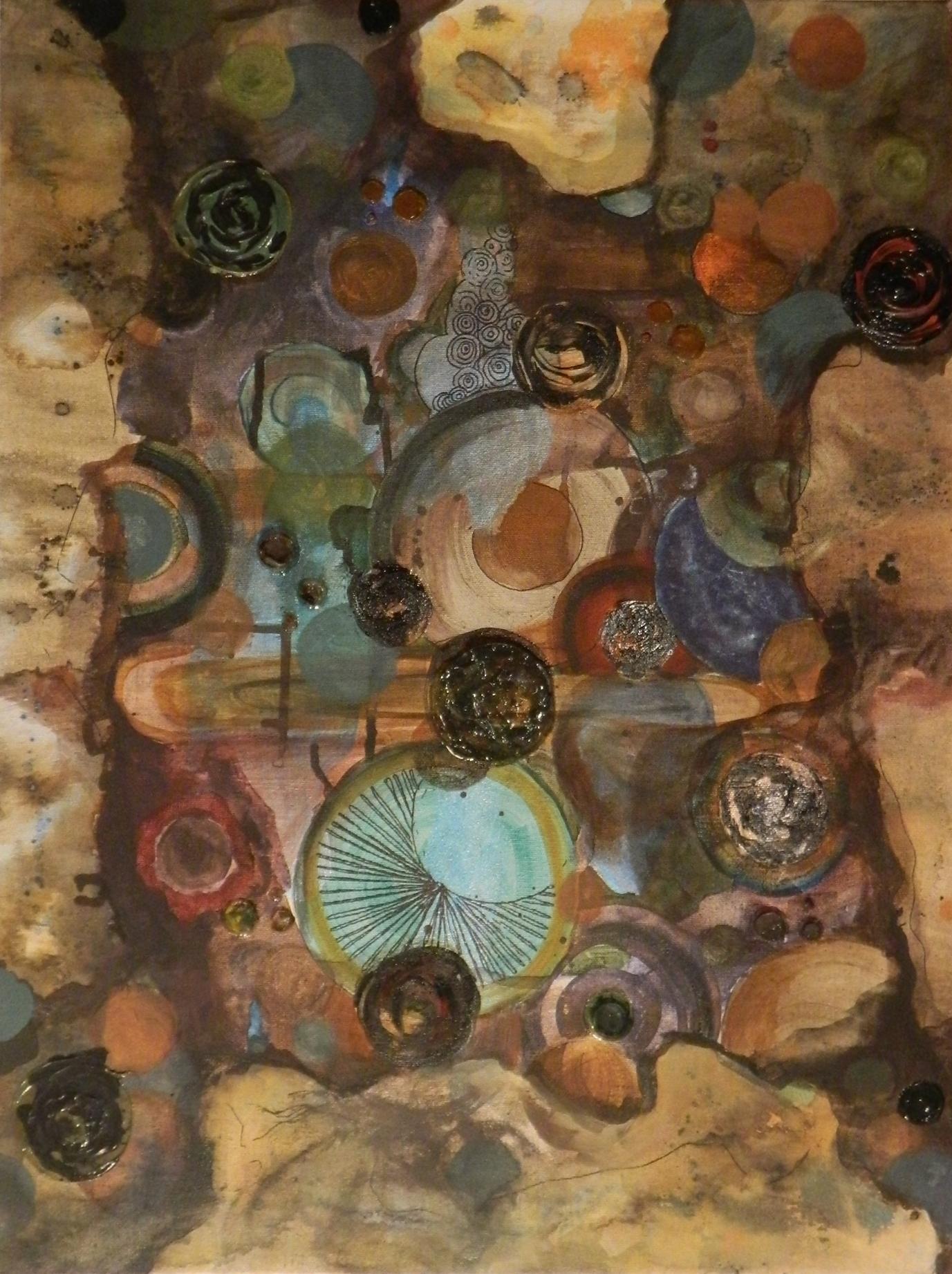 Organic Abstract, 2011