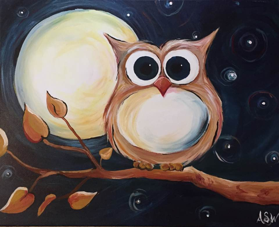 Owl Moon and Stars 2016