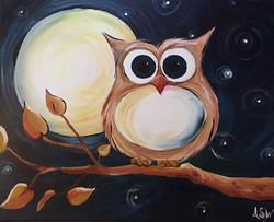 Owl Moon and Stars 2016