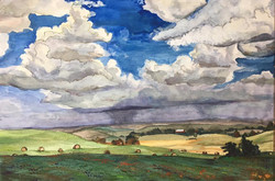 Rainy KS Landscape