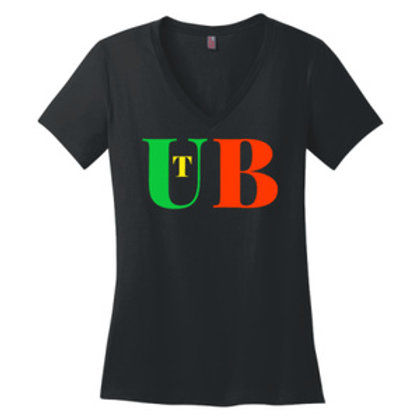Women V-neck. Unlike other tees, Perfect Weight tees remain looki