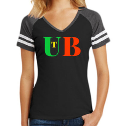 Women's Game V Neck Tee