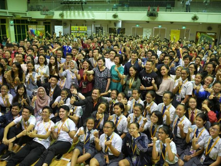 Student leaders at youth summit called upon to be kind and serve the community